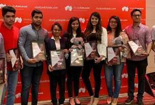10 Indian students made study in South Australia ambassadors
