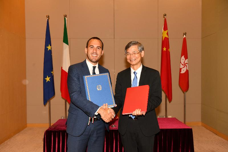 HK-Italy working holiday scheme agreement signed - GET News