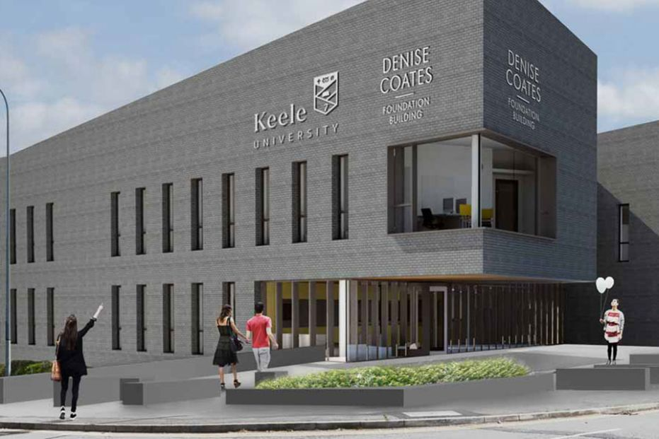 New Keele University business school campus unveiled