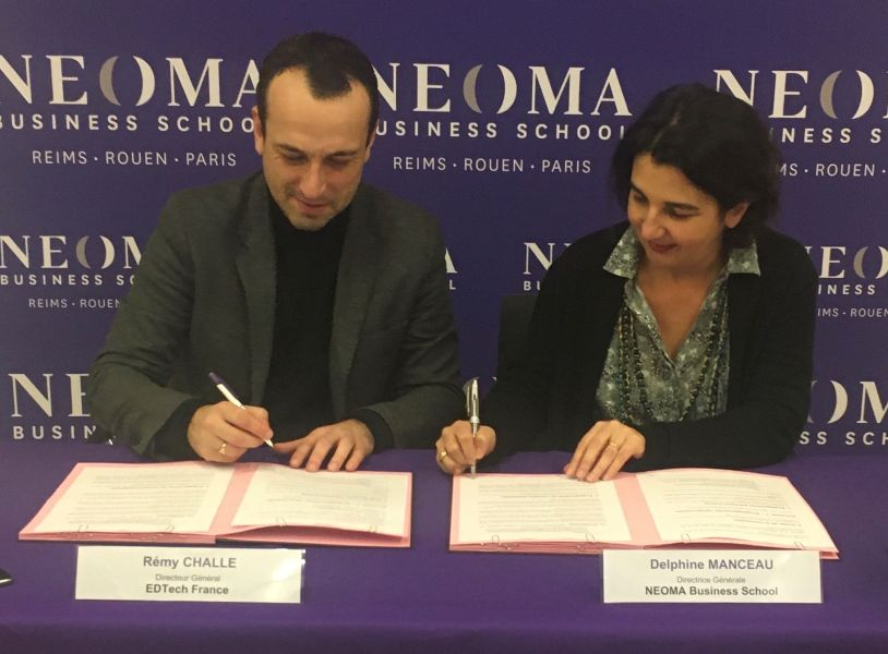 NEOMA Business School partners with EdTech France - Global Education Times (GET News)