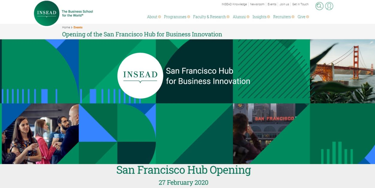 INSEAD announces new San Francisco campus