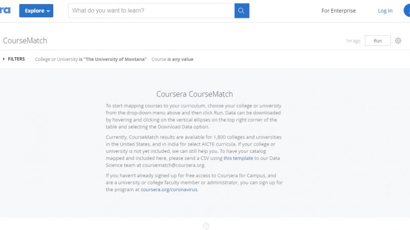 Coursera launches online tool CourseMatch - Global Education Times (GET News)