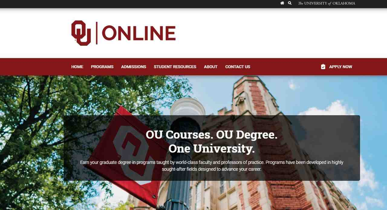 University of Oklahoma launches OU Online
