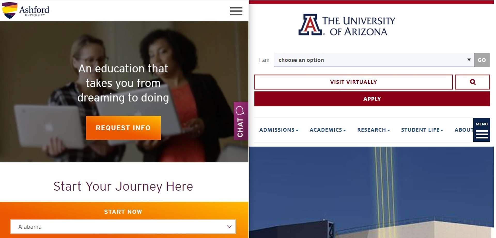 University of Arizona to acquire Ashford University