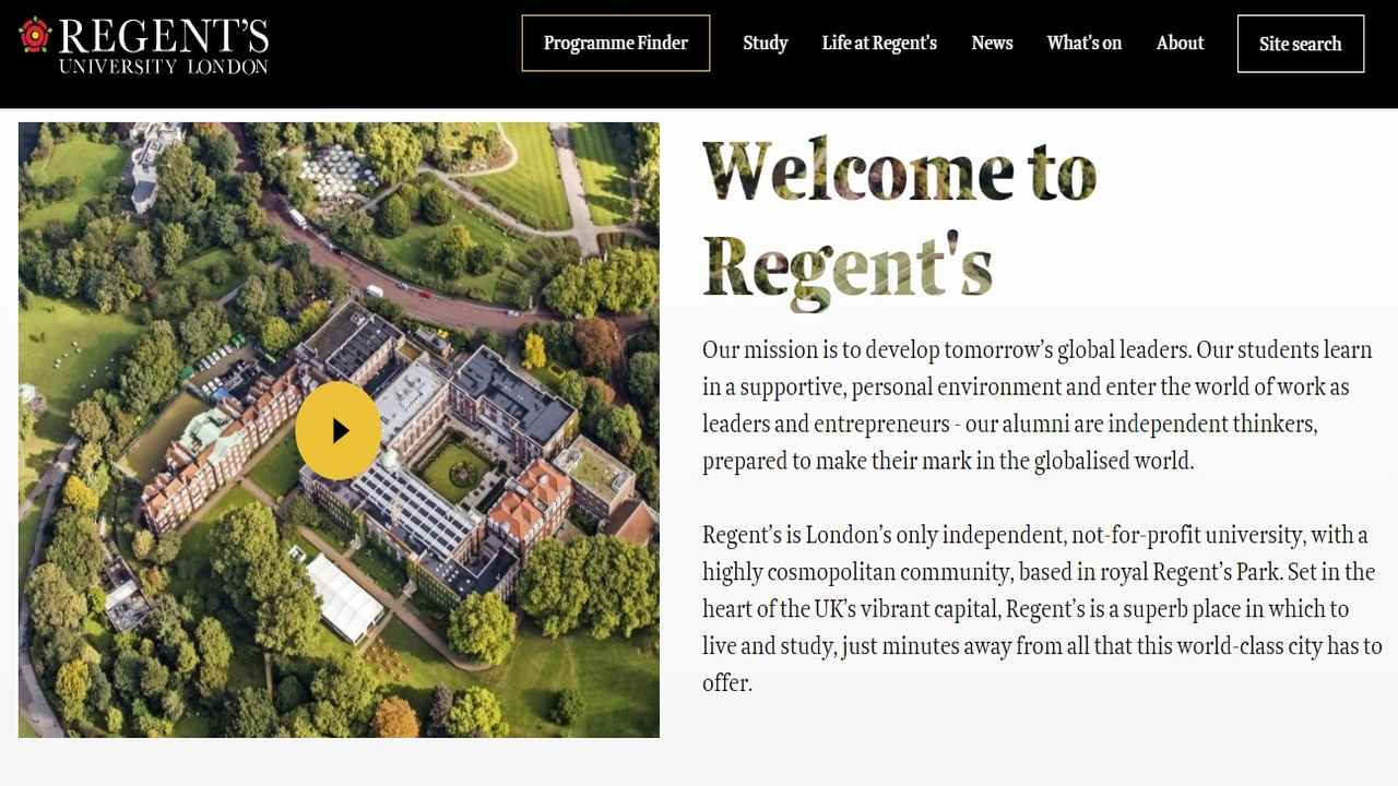 Galileo to acquire Regent's University London