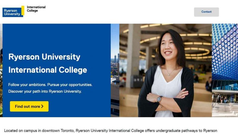 Ryerson and Navitas launch Ryerson University International College - Global Education Times (GET News)