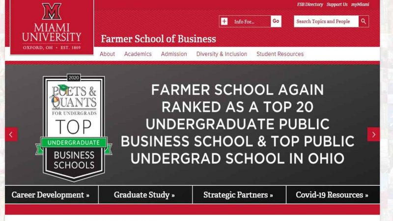 Miami University business students required to improve 'cultural intelligence' - Global Education Times (GET News)