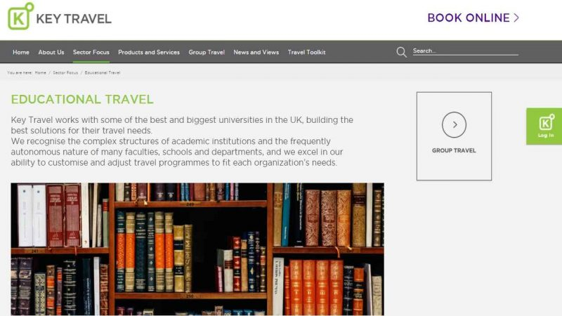 Key Travel launches new Student Travel portal - Global Education Times (GET News)