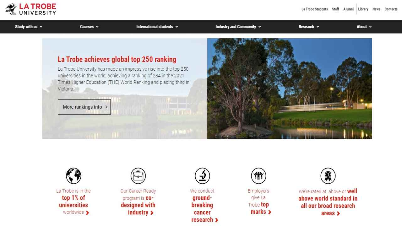 La Trobe partners with online provider Wiley Education Services