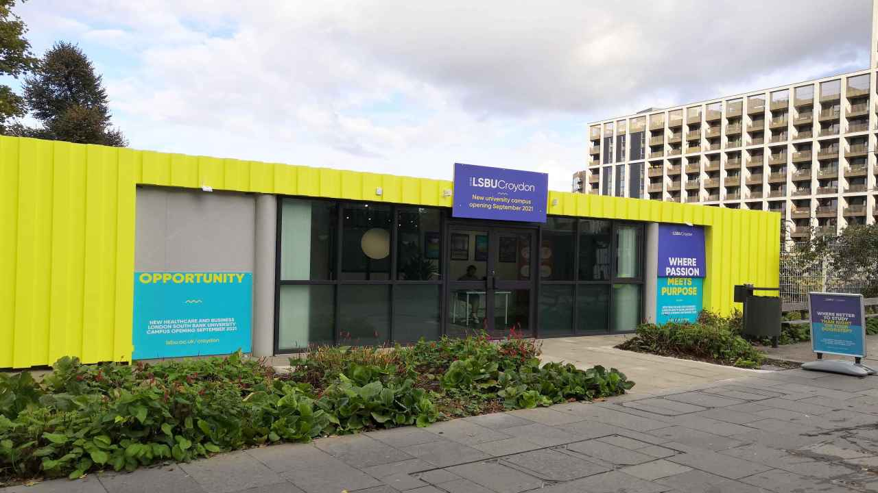 LSBU opens information point for new Croydon campus