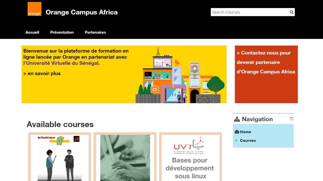 New e-learning platform Orange Campus Africa launched