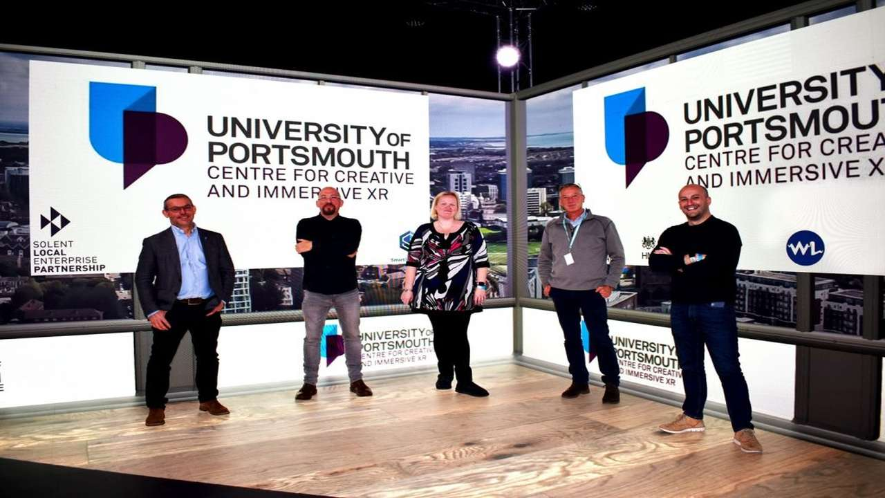University of Portsmouth to launch £3.6m XR centre