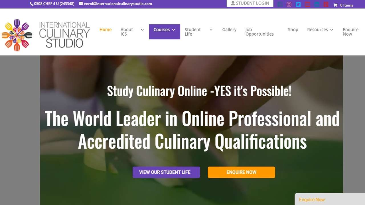 International Culinary Studio first in NZ to offer Global Hospitality Certification