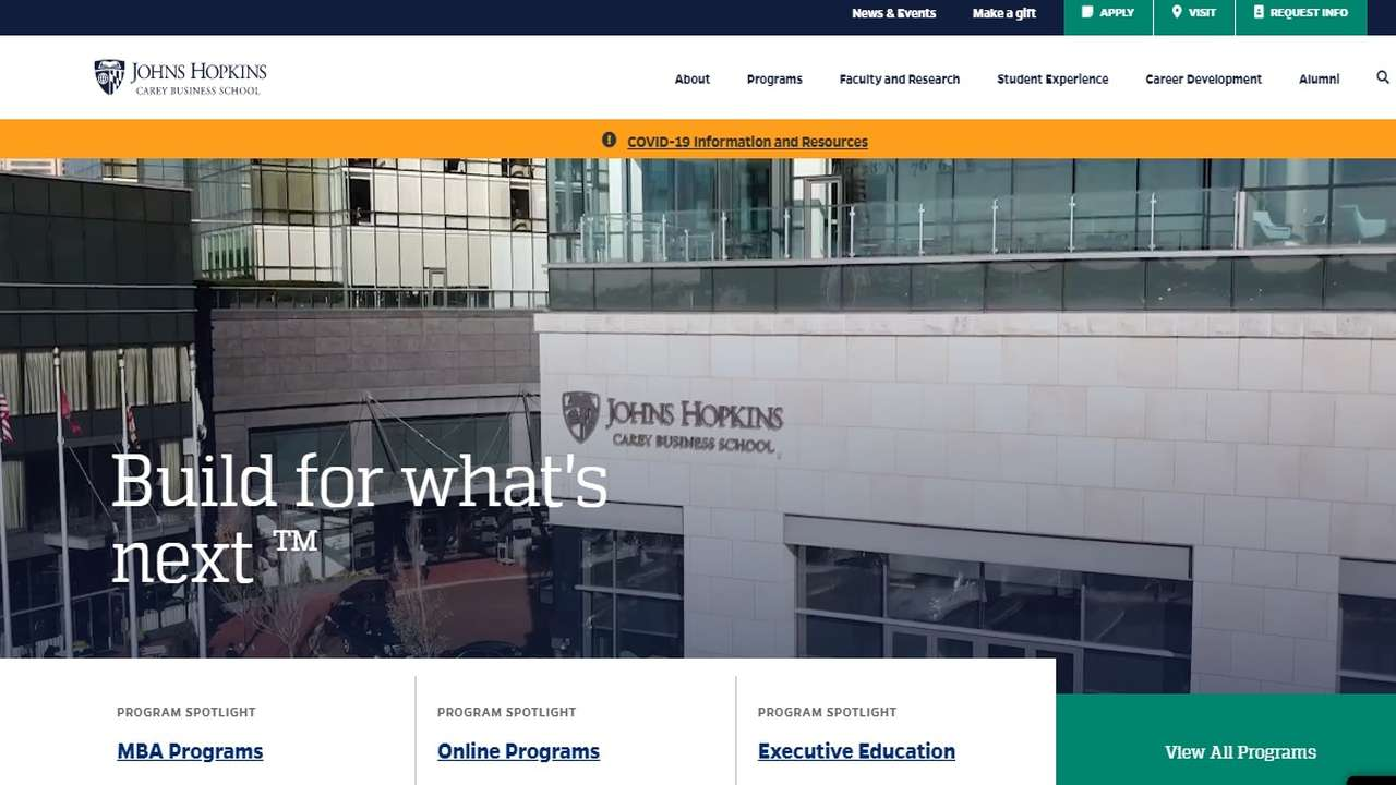 Johns Hopkins and Insendi sign online education partnership