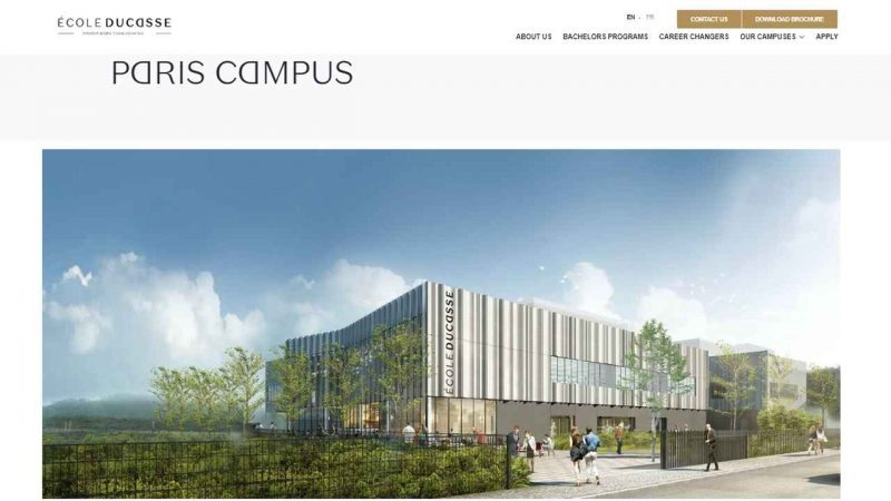 Sommet launches new Ecole Ducasse Paris campus - Global Education Times (GET News)